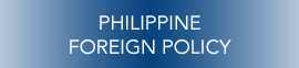 PH FOREIGN POLICY